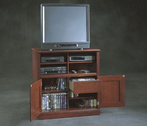 Roanoke Entertainment Stand - Classic Cherry finish