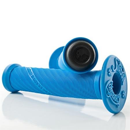 The Shadow Conspiracy Thirteen BMX Bike Grip - Highlighter Blue