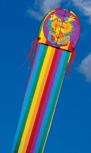 45-ft. Mylar Fire Dragon Kite Made in the USA