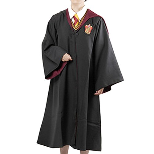 Pride Panda Unisex Adult Harry Potter Deluxe Robe Cosplay Costume-Gryffindor-X-Small