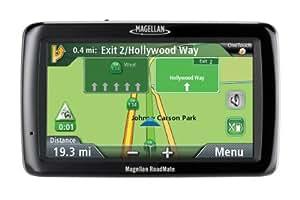Magellan RoadMate 5045 5-Inch Widescreen Portable GPS Navigator with Lifetime Traffic
