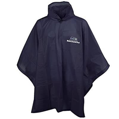 Amazon.com : NFL Seattle Seahawks Rain Poncho : Outerwear : Clothing