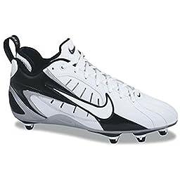 Nike Super Speed D 3/4 US Mens 8 M (White/Black)
