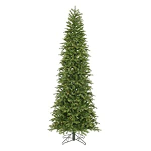"Vickerman 13098 - 9.5' x 49"" Redwood Slim 550 Multi-Color Lights Christmas Tree (E875187)"
