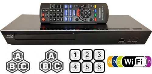 Read About Panasonic 89 Multi Zone All Region DVD Blu ray Player. 100-240V World-Wide Voltage.