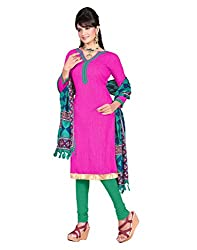 Indian Designer Bollywood Casual Wear Georgette Green Un Stitch Branded Salwar Suit elegant Dress Material for women girls ladies From Lookslady