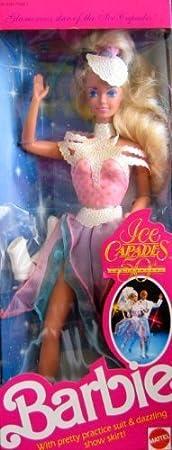 Barbie Ice Capades Doll (1989) by Mattel (English Manual)