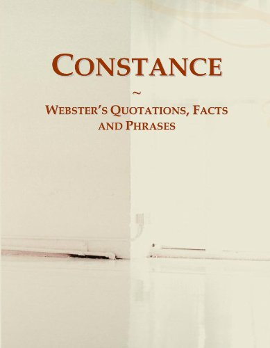 Constance: Webster's Quotations, Facts and Phrases
