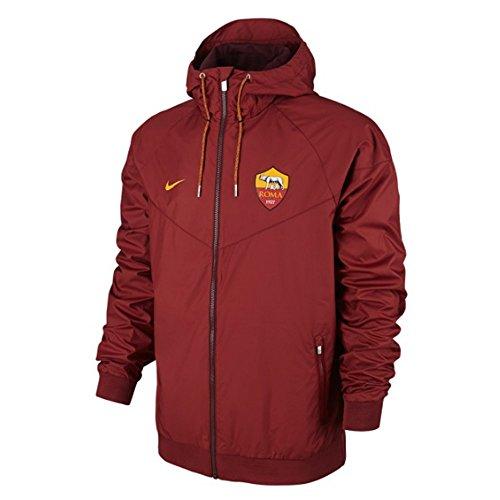 Nike 810304 Giacca A.S. Roma, Uomo, Rosso, taglia L