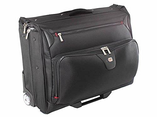 :Gino Ferrari, Manhattan Wheeled garment bag, Black [Luggage]