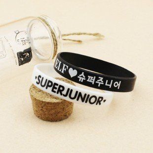 K-pop Wristband Super Junior 2pc