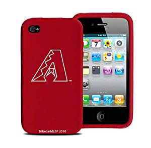 Arizona Diamondbacks iPhone 4 and 4S Case: Silicone Cover