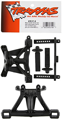 Traxxas 5314 Front and Rear Body Mounts with Posts and Pins 1/10 Revo