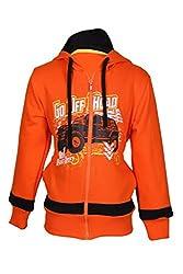 Cool Quotient Boy's Sweatshirts [CQBW15I228_Orange_5-6 Years]