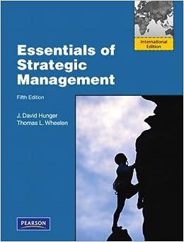 Strategic Planning and Management - Amazon