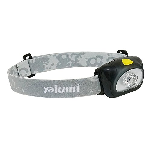 Yalumi Spark 105-Lumen 90-Meter Spotlight White LED Headlamp, Black/Gray