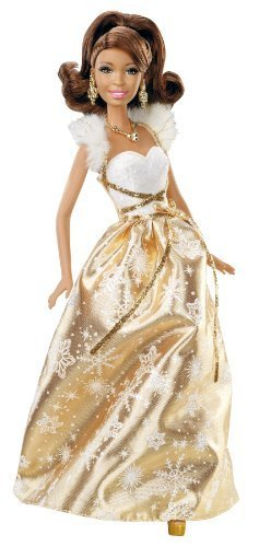 Barbie Holiday Wishes African-American Doll by Barbie (English Manual)