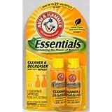 Arm & Hammer Essentials Cleaner & Degreaser Heavy Duty Refills 1.2 Oz Bottles 2 in pack (Pack of 6) 14.4 Oz Total