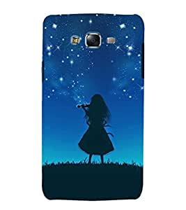 iFasho Girl playing violin Back Case Cover for Samsung Galaxy J5