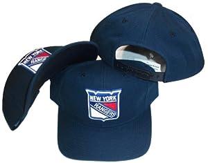 Buy New York Rangers Blue Vintage Deadstock Adjustable Snapback Hat Cap by Sports Specialties by Sports Specialties