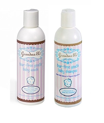 Grandma El's Natural Baby Wash + Baby Shampoo - Gentle and Cleansing - 1