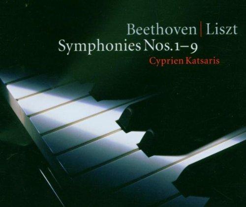 Beethoven / Arr Liszt : Symphonies Nos 1 - 9