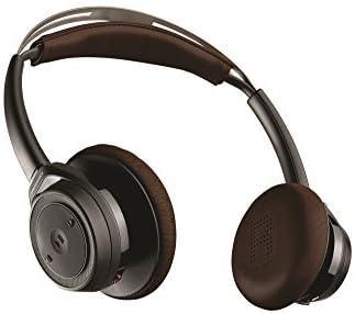 【国内正規品】 PLANTRONICS 両耳 Bluetooth ワイヤレス ステレオヘッドセット(ヘッドホンタイプ) BackBeat SENSE Black  BACKBEATSENSE-B