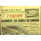 EQUIPE (L') [No 12162] du 17/06/1985 - ALBORETO - CANADA - PROSCHE - 24 HEURES DU MANS - NOAH - RUGBY - BLANCO...