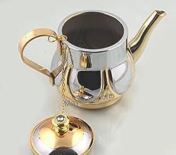 Italian Gold Tea Kettle - 800 ML Stainless steel - Peacock
