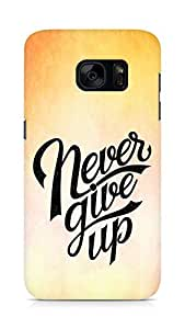 AMEZ never give up Back Cover For Samsung Galaxy S7