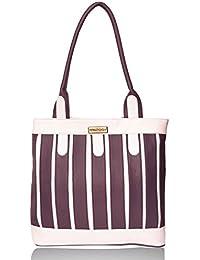 Fantosy Multi Chain Purple And White Handbag(FNB-382)
