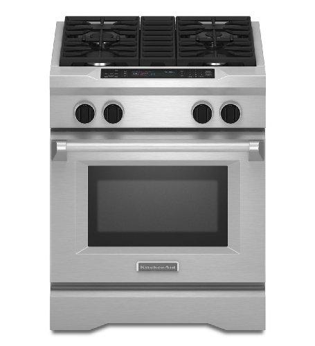 Kitchenaid KDRS407VSS Commercial-Style Dual Fuel Range (Range Kitchenaid compare prices)