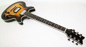 Jazz & Blues E-Gitarre Semi Acoustic, TSB