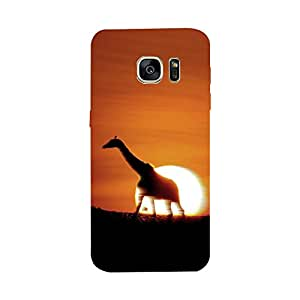 Skintice Designer Back Cover with direct 3D sublimation printing for Samsung Galaxy S7