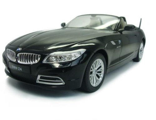 Bmwz4 1:12 Electronic Control Convertible Remote Control Car Model -Black Ships By Expedite