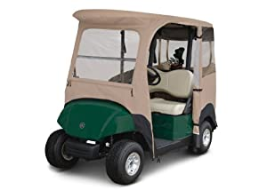Classic Accessories Fairway Deluxe 4-Sided 2-Person Golf Cart Enclosure For Yamaha,... by Fairway