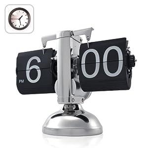 Niceeshop Retro Flip Down Clock - Internal Gear Operated