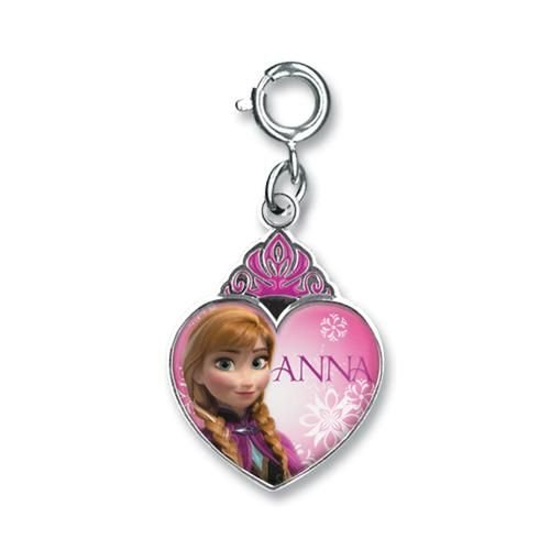Anna Crown Heart Charm - 1