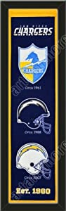 Heritage Banner Of San Diego Chargers-Framed Awesome & Beautiful-Must For A... by Art and More, Davenport, IA