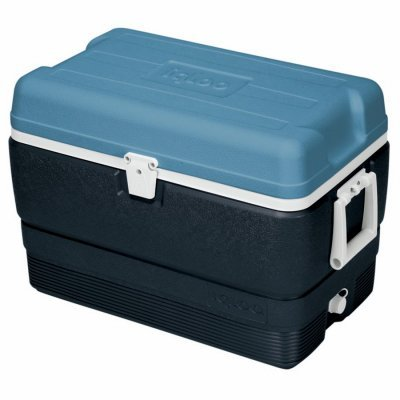 Igloo MaxCold Cooler (50-Quart, Icy Blue) (Igloo Icy Cooler compare prices)
