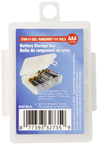Dial AAA Battery Storage Box (B327FN) (Dial Aaa Battery Storage Box compare prices)