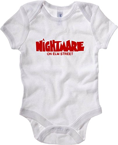 T-Shirtshock - Body neonato OLDENG00005 a nightmare on elm street, Taglia 18-24mesi