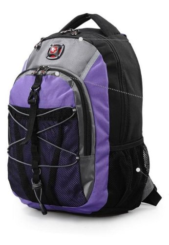 2014 Swiss Gear New Style Classic Computer Notebook Laptop Teblet Backpack.Sa7938-C1-Purple