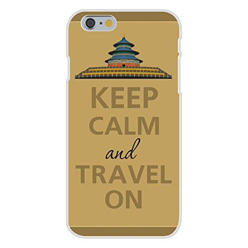 apple-iphone-6-plus-custom-case-white-plastic-snap-on-keep-calm-and-travel-on-asian-architecture