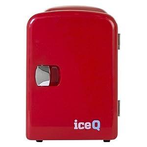 iceQ 4 Litre Mini Fridge - Red