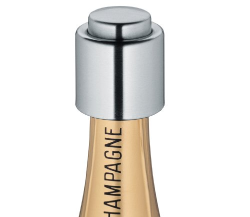 Cilio 18/10 Stainless Steel Champagne Sealer (Champagne Cooler compare prices)