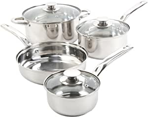 Sunbeam 91340.07 Ansonville 7-Piece Cookware Set