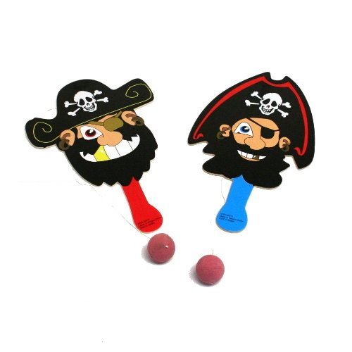 Pirate Paddle Ball Games (1 dz)