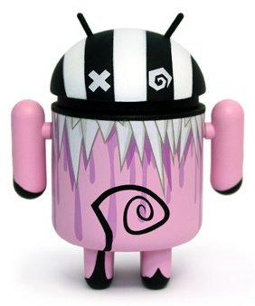 Buy Low Price DYZ Plastics Android Mini Collectible Series 02 Rupture 1/16 Ratio Vinyl Toy Robot Figure (B004SP4EGE)