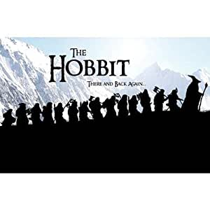 (11x17) The Hobbit There And Back Again Movie Poster